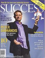 Success Magazine Peter Diamandis Going Mobile Seo Tips Special Anniversary Issue