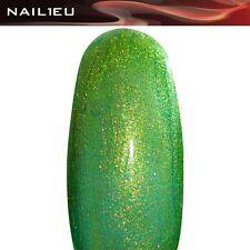 "Profesional UV Gel de color Gel Purpurina"" nail1eu magigreen"" 5ml / GEL DE UÑAS"