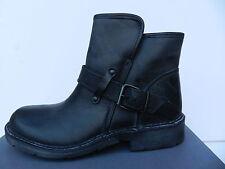 Cashott Chaussures Femme 39 Bottines Black West Bottes Fourrées Shearling UK6