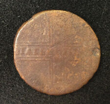 1730 5 KOPEKS OLD RUSSIAN IMPERIAL COIN. ORIGINAL. ANNA