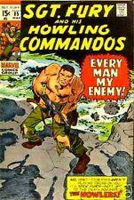 SGT FURY 85 VF- SERGEANT & HIS HOWLING COMMANDOS 1963 MARVEL NICK AGENT SHIELD