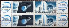 YT 1465a  - BLOC DE 4 - TIMBRES NEUFS** LUXE fusee diamant satellite A1