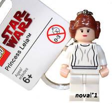 STAR WARS LEGO PRINCIPESSA LEIA FALCON PORTACHIAVI NUOVO V RARO