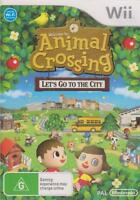 Animal Crossing: Let's Go To The City Nintendo Wii PAL Brand New