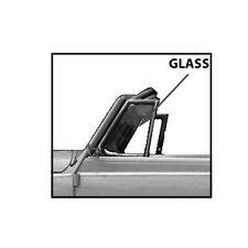 VOLKSWAGEN (VW) BEETLE CONVERTIBLE VENT WING GLASS 1965-1972
