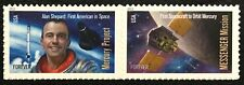 2011 #4527-28 Forever - MERCURY & MESSENGER MISSIONS - Pair of stamps - Mint NH