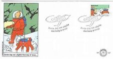 Netherlands**TINTIN on Moon-ROCKET-FDC COVER 8-10-1999-CARTOONS-BD-KUIFJE-TIM