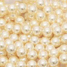 (ANY Size) Swarovski Cream Pearl (620) Round Bead Crystal (5810) Rhinestone Gems