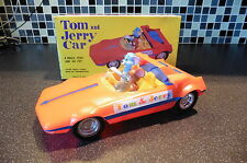 Vintage Marx Tom and Jerry friction Car near Mint Boxed 1960's unplayed!