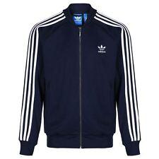 adidas Originals Trefoil Superstar Tracksuit Top Track Jacket - Navy UK L