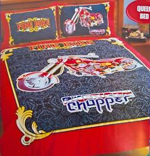 ~ American Chopper - QUEEN BED MOTOR CYCLE BIKE  DOONA QUILT DUVET COVER Harley