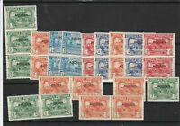 Portuguese Azores Overprint Never Hinged Stamps ref R 17891