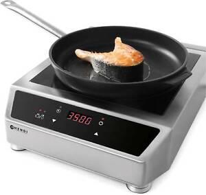 induction cooker Induktionskocher Digital 3500 Watt Hendi Gastro Profi NEU