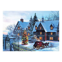 1000 Piece Jigsaw Puzzle for Adults or Kids - Educational Toy - Christmas