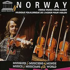 Fiddle and Hardanger Music From Agder - Norway Audio CD