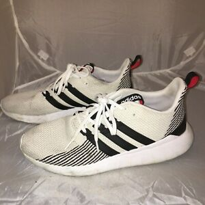 Adidas Mens Cloudfoam Ortholite PWI 001001 White Athletic Running Shoe Size 13