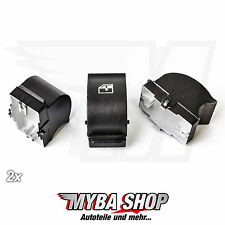 2x Fensterheber Reparatur Knopf Schalter für Fiat Citroen Peugeot | Links/Rechts