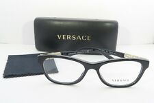 b953ea2ddfe Versace Women s Black Glasses with case MOD 3212-B GB1 54mm