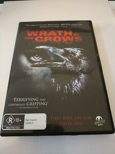 The Wrath Of Crows DVD Region 4 Terrifying Horror Brutal Scenes FREE SHIPPING...