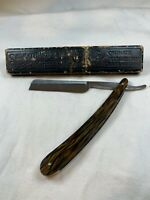 Shumate Vintage Straight Razor, Made in the USA Beautiful Handle D789