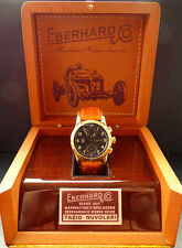 Eberhard & Co. Tazio Nuvolari Yellow Gold 18K Chronometer Automatic Chronograph