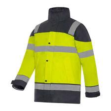 Veste haute visibilité de pluie de travail, homme T2S Bermudes, taille XL