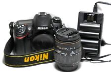 Nikon D7000 Digital SLR Camera( Low Shutter) With Lens, Batteries And Charger