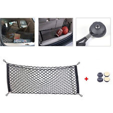 1x Universal Black Car Trunk Rear Cargo Organizer Storage Nylon Elastic Mesh Net