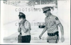 1966 Wasau Wisconsin Police Officers With Shooting Suspect Press Photo