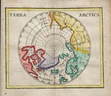 1681 Desirable  Duval/Hoffman Map of Arctic Lands, North Pole
