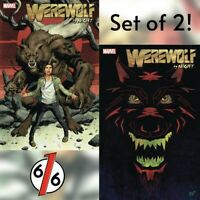 🚨🐺🌕 WEREWOLF BY NIGHT #1 SET OF 2 Main Cover + Veregge Variant NM Gemini