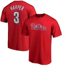 Youth Philadelphia Phillies Bryce Harper Majestic Red Jersey T-Shirt