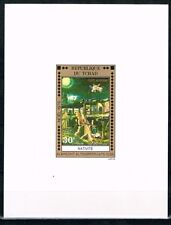 Chad.Noel 1976.Painting. Deluxe.Imperforated.MNH**