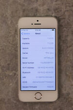 Apple iPhone 5s 16GB Silver (TFW) Smartphone - BAD ESN! AS IS!