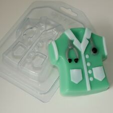 """Medical gown"" plastic soap mold soap making mold mould"