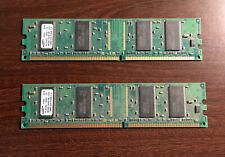 Samsung 256MB RAM Kit 2 x 128MB DDR PC3200 400MHz DIMMs M368L1624FTM-CCC