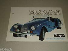 Auto Werbung Prospekt Morgan Sports Cars 4/4 und Plus 8