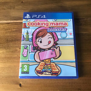 Cooking Mama Cookstar PS4 Game NEW Sealed