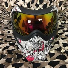 NEW V-Force Grill Thermal Anti-Fog Paintball Mask Goggle - SE Jolly Roger