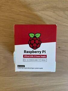 Raspberry Pi Raspberry Pi 15.3W USB-C Netzteil Power Supply 3 A