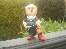 BAD TASTE BEARS Figurine ' THERESA ' THE SEXY NUN Bear in  Very Good Condition