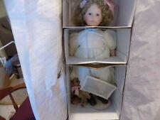 """Danbury Mint Victorian Children Goldie Doll By Jan Hagara Euc 21"""""""