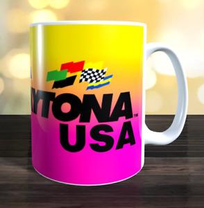 Daytona USA arcade game Marquee Mug