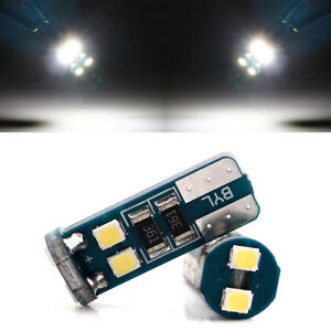 100Pcs T10 3030 6SMD Canbus Error Free W5W 168 White LED bulbs Side Light 12V