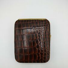 Vintage Buxton Cowhide Leather Key Trainer Holder