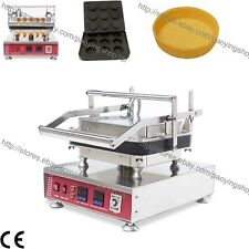 Commercial Nonstick Electric 9pcs Mini Round Egg Pie Cupcake Maker Baker Machine