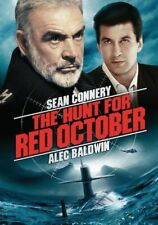 The Hunt for Red October (DVD, WS, 2003, Collector's Edition) Sean Connery NEW