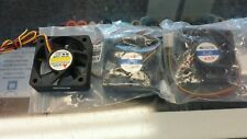 NEW LYF 8CM X 8CM X 2.5CM SQUARE HEAT SINK CASE COOLING FAN BLACK DC 12V .18A PC