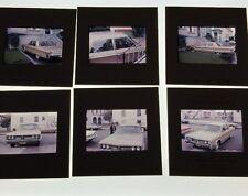 Lot Of 11 Vintage Color Photo Slides of 1960's Chrysler New Yorker