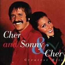CHER/SONNY & CHER GREATEST HITS CD NEW
